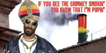 Snoop Dogg as pope?