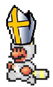 Mario as pope?