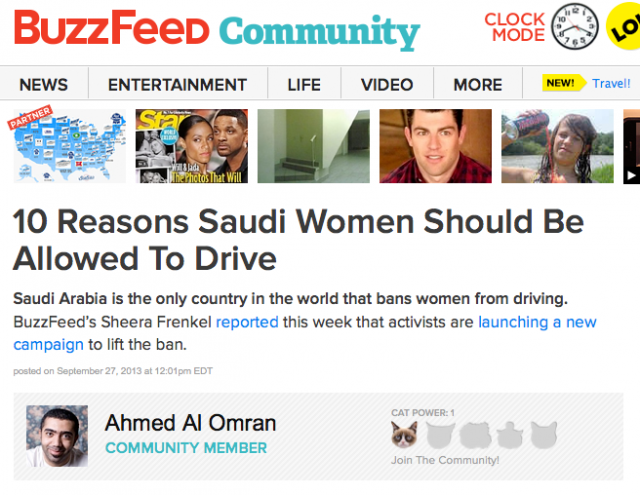 BuzzFeed Community screenshot