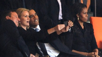 The selfie of all selfies. Image via Mashable.
